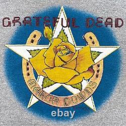 Rare Vintage 83 Grateful Dead Tshirt Stanley Mouse Manor Downs Screen Star Sz L