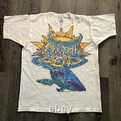 Rare Vintage Grateful Dead 1994 Whale T Shirt Mens XL