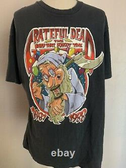 Rare Vintage Grateful Dead NYE 1987 Viewers Choice I Partied With The Dead XL