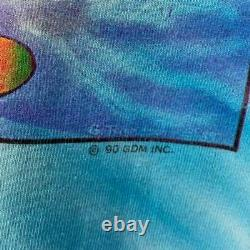 Rare Vintage Grateful Dead Snowboard Ski Bear Shirt Jerry Garcia 1990 M/L