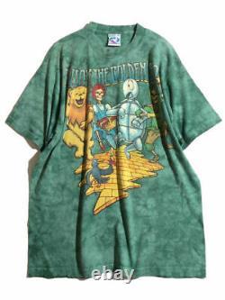 Rare Vintage Item Grateful Dead Fall Tour 1994 Follow the Golden Road T-shirt