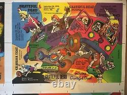 Rare grateful dead backstage pass uncut puzzle Pieces With Scarce Others