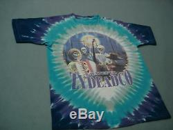 Rare vintage 95 Spring Tour GRATEFUL DEAD Tour Concert T shirt Grateful Zydeadco