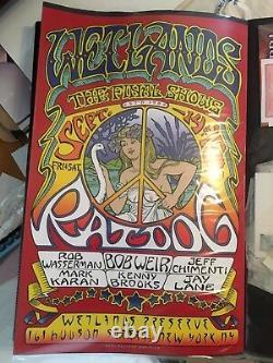 Ratdog September 2001 Wetlands Cancelled Show RARE Grateful Dead Poster