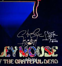 STANLEY MOUSE A Psychedelic Mind MeltVery Rare Signed PosterTHE GRATEFUL DEAD