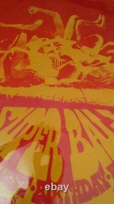 SUPER BALL GRATEFUL DEAD Concert Poster RARE original