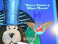 Sale Price-rare-signed X 4-numbered-grateful Dead-vince Welnick-stanley Mouse