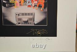 Stanley Mouse Mars Hotel Fine Art Giclee Double Signed c. 2003 TEST PROOFRARE