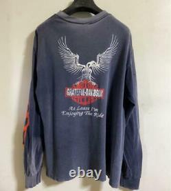 Super Rare Vintage Harley Davidson × Grateful Dead Size LL