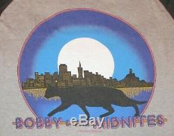 TRUE Vintage RARE 1982 Bobby and the Midnites GRATEFUL DEAD Sm T-shirt Dead Stoc