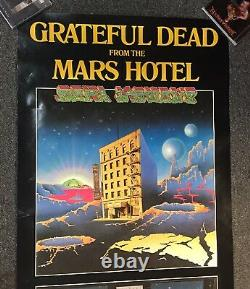 The Grateful Dead Mars Hotel Poster Original 51x23 RARE