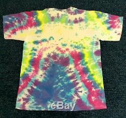 ULTRA RARE VTG 80'S Grateful Dead T Shirt XL BEACH BEARS BLANKET NO REPRODUCTIO