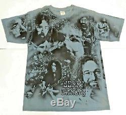 ULTRA RARE VTG JERRY GARCIA Grateful Dead T Shirt XL