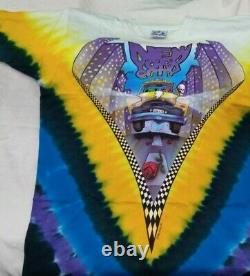 VERY RARE Grateful Dead New York City 2 Sided Tour Tshirt NWOT Vintage Large