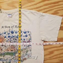 VINTAGE The Grateful Dead T-Shirt A BOX OF RAIN WILL EASE THE PAIN Rare OG