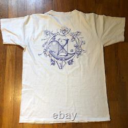 VTG 1985 Grateful Dead EVERYBODYS DANCIN Turtle Bear Hippie 80s Rare T Shirt XL