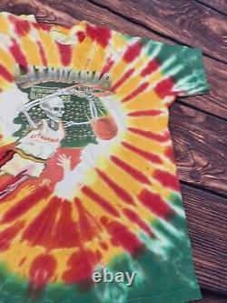 VTG 1992 Lithuania Bronze Medal Winners Barcelona Grateful Dead Tie Dye XL Rare