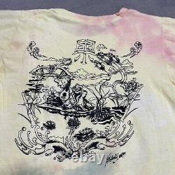 VTG 80s Grateful Dead Band Shirt Parking Lot Single Stitch Psychedelic Rare Back