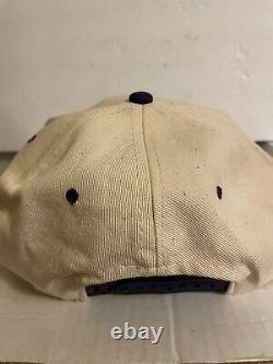 VTG 90s Grateful Dead Band Rare Vintage Snapback Hat Jerry Garcia Bear Purple