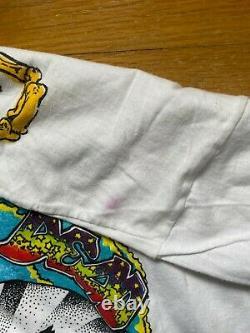 VTG Grateful Dead 1993 Spring Tour Concert Band Tee Long Sleeve Shirt Rare XL