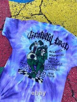 VTG Grateful Dead 1993 Tour Blues for Allah Tie Dye Rare lot tee shirt usa XL