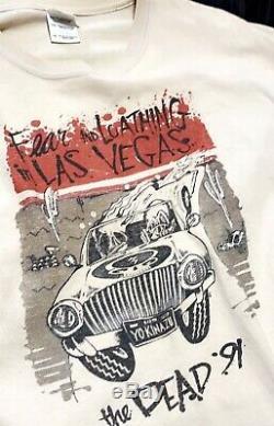 VTG Grateful Dead Fear And Loathing T-Shirt XL Rare VTG 91 NO RESERVE