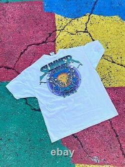 VTG Grateful Dead Summer Tour 1991 Sun and Skeleton Rare graphic shirt USA XL