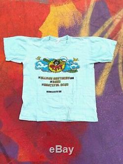 Vintage 1973 Summer Jam at Watkins Glen Concert rare grateful dead allman bro S