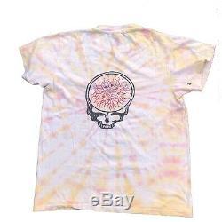 Vintage 1980s The Grateful Dead Parking lot T-Shirt Size Large Rare 70s 80s