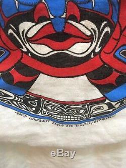 Vintage 1982 Grateful Dead Shirt S RED ROCKS/NORTHWEST DAVID LUNQUIST RARE
