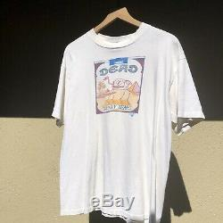 Vintage 1985 grateful Dead Camel Twenty Years T Shirt XL RARE