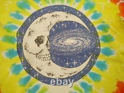Vintage 1988 Jerry Garcia Grateful Dead Band T Shirt Rare Sun Moon Tie Dye RARE