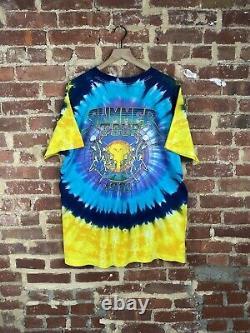 Vintage 1991 Grateful Dead T shirt XL USA single stitch Summer Tour Rare