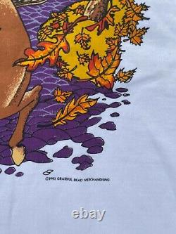 Vintage 1993 NWOT Grateful Dead Boston Garden RARE Graphic Shirt Paul Revere XL