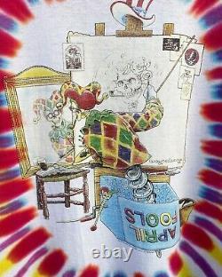 Vintage 1996 Grateful Dead April Fools TShirt XLarge RARE