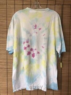 Vintage 80s 90s Air Jerry T Shirt Garcia Grateful Dead L Tie Dye RARE