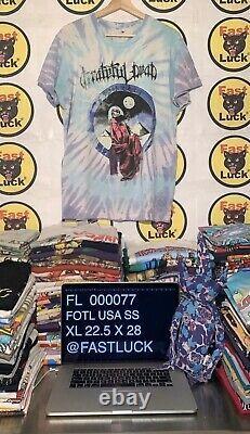 Vintage 80s Grateful Dead Blues For Allah Made Usa Let It Grow Lot T Shirt Rare