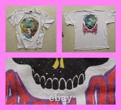 Vintage 90s GRATEFUL DEAD T SHIRT 1993 Spring Tour GDM rare/concert/brockum