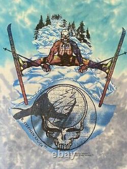 Vintage 90s Grateful Dead 1995 USA Olympics Ski Team Shirt Size XL USA Made Rare
