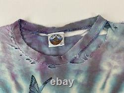 Vintage 90s Very Rare Grateful Dead Moon Space Tie Dye 1994 Tour XL T-Shirt USA