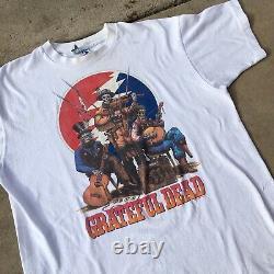 Vintage Grateful Dead 1993 T-Shirt Liquid Blue 90s GDM XL RARE Jug Band New York