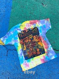 Vintage Grateful Dead 1994 Ship of Fools rare lot tee tie dye tour shirt USA XL