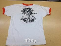Vintage Grateful Dead Baseball Style Shirt Concert XL 80's RARE