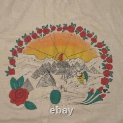 Vintage Grateful Dead Shirt Adult XL Rare Band Concert Tee 1984 Turtles Mens 80s
