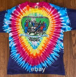 Vintage Grateful Dead Shirt Philadelphia Large Tie Dye Rare