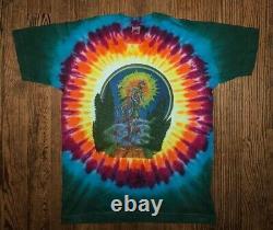 Vintage Grateful Dead Shirt Size Large Single Stitch Rare 90s GDM