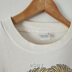 Vintage Grateful Dead Shirt (size Large) RARE Sorayama Art Pot Leaf