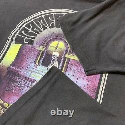 Vintage Grateful Dead T Shirt Concert Tour Tee Skeleton Rare 1990 Print Mens XL