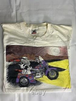 Vintage Grateful Dead T Shirt Enjoying The Ride XL Very Rare
