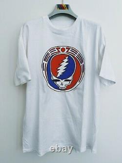 Vintage Grateful Dead shirt 80's 1985 GDP Owsley Stealie deadstock Garcia RARE
